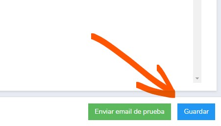 guardar plantilla de newsletter