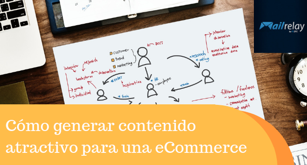 Cómo generar contenido atractivo para una eCommerce