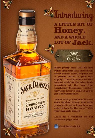 Jack Daniels presentó su nuevo producto