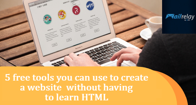 5 free tools you can use to create a website without having to learn