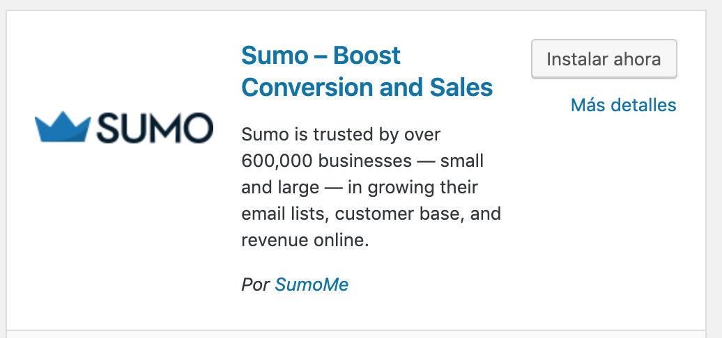 Integrar el formulario de Mailrelay en SumoMe