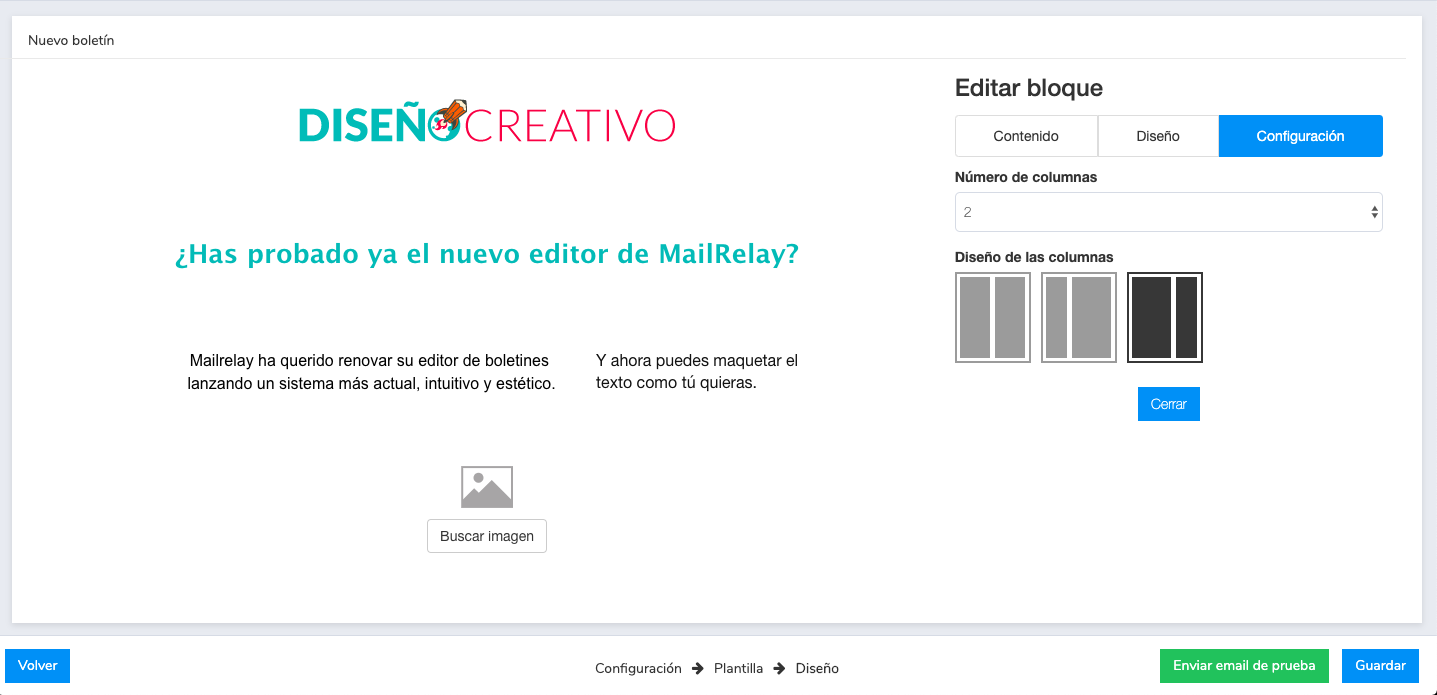 editor de newsletter gratis