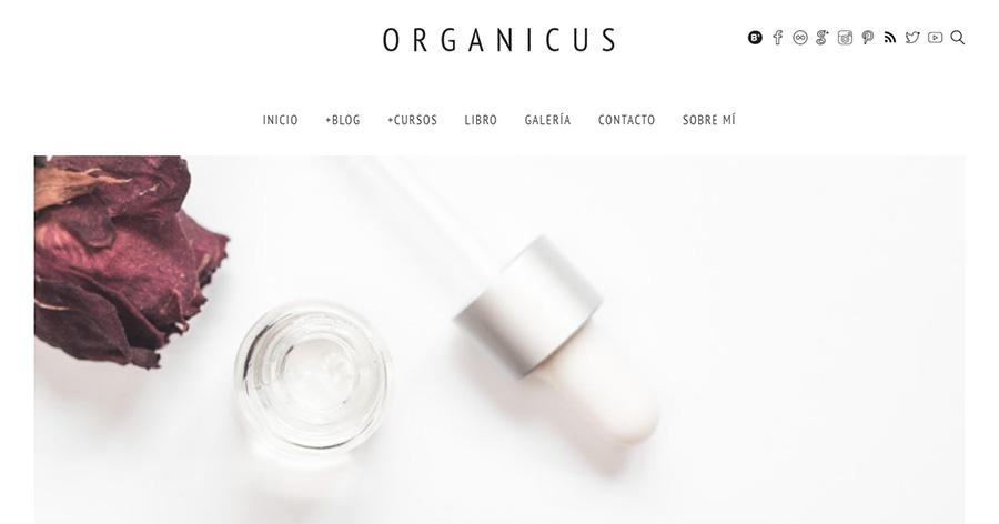 Otro ejemplo: Organicus