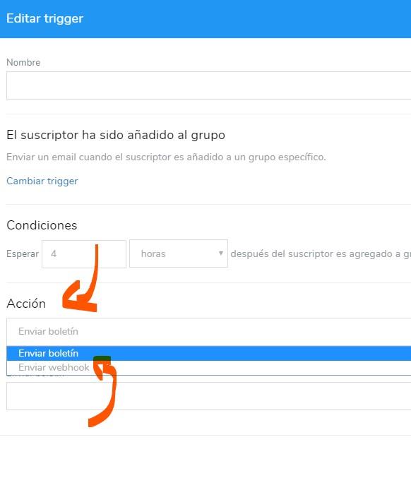 webhook añadir contacto
