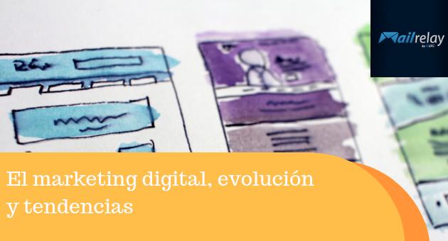 El marketing digital, evolución y tendencias