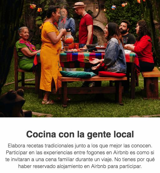 ejemplo de email de Airbnb