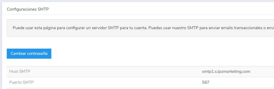 servidor smtp