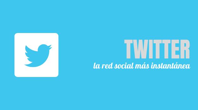 Twitter, la red social más instantánea