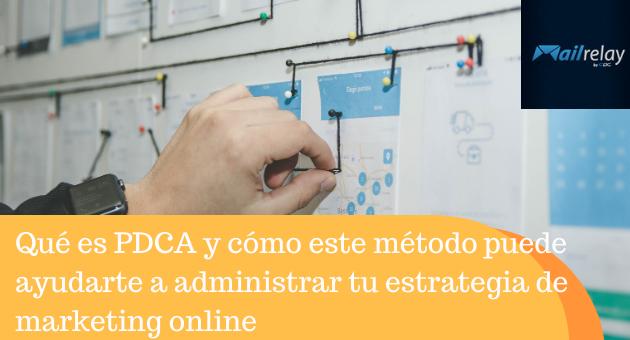 Qué es PDCA y cómo este método puede ayudarte a administrar tu estrategia de marketing online