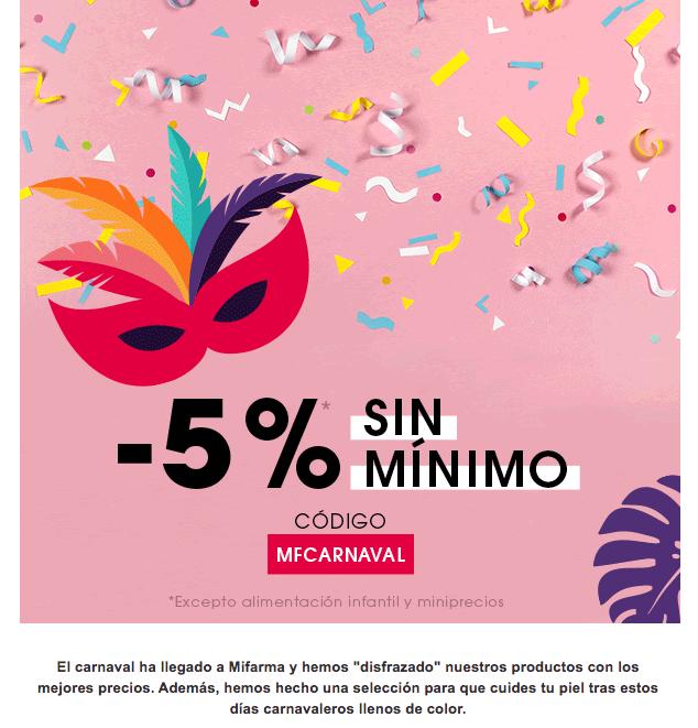 Ejemplo de email promocional - MiFarma