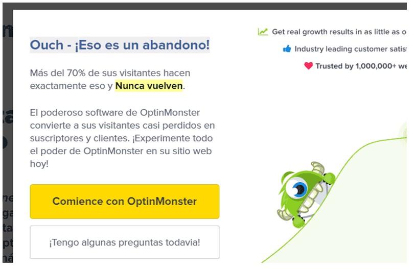 ejemplo popup optin monster