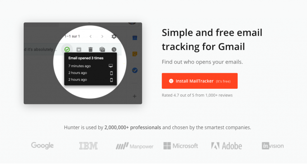 Mailtracker: herramienta de email marketing