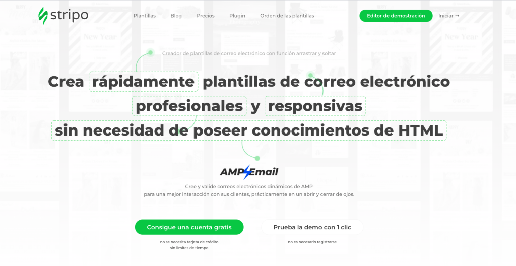 Stripo email: herramienta de email marketing