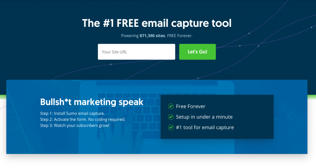 SumoMe: herramienta de email marketing