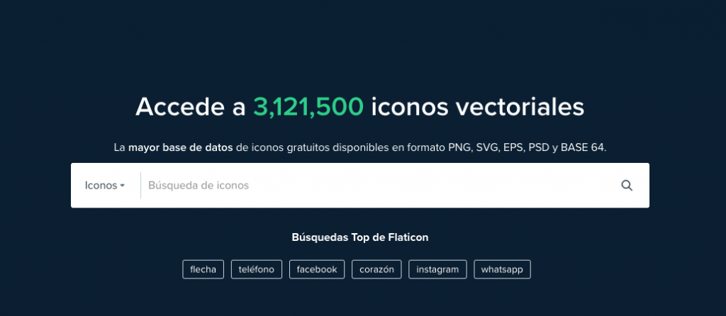 Flaticon: herramienta complementaria para tu email marketing