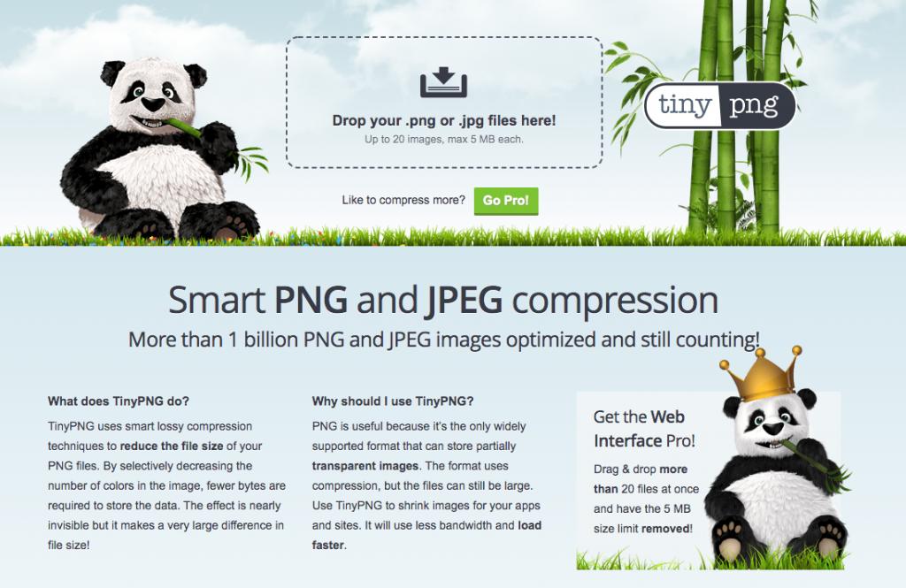 TinyPNG: herramienta complementaria para tu email marketing