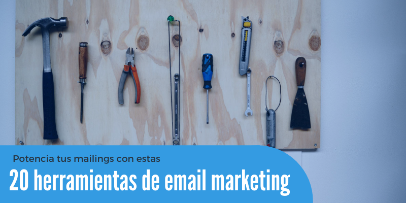 20 herramientas de email marketing