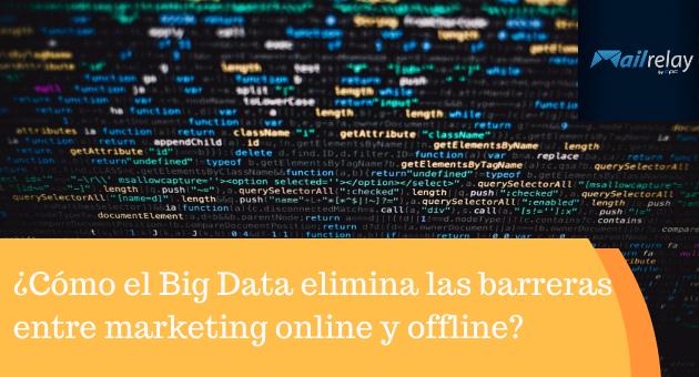 ¿Cómo el Big Data elimina las barreras entre marketing online y offline?