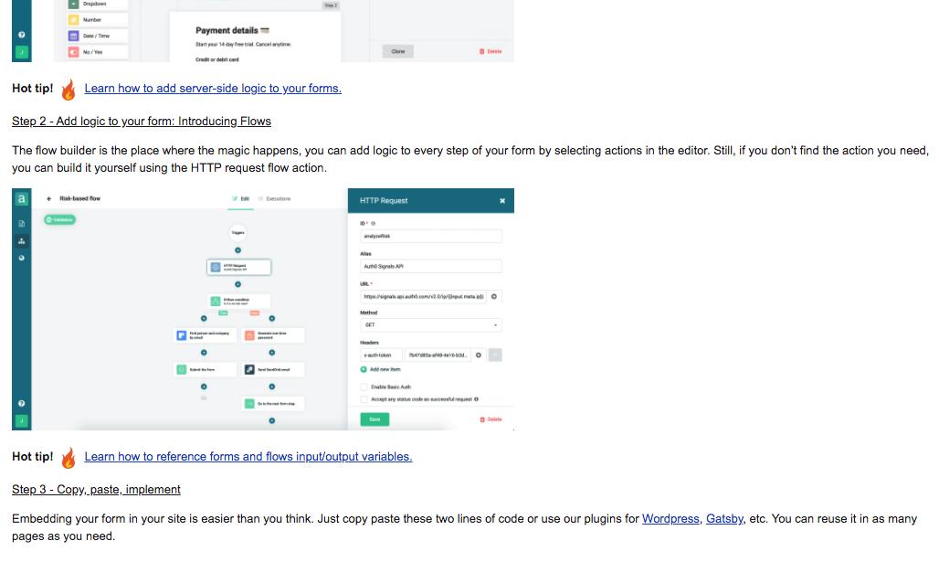 Ejemplo de mailing de Arengu