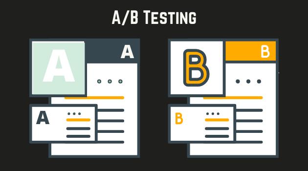 Pruebas A/B para mejorar la tasa de conversión de la página de aterrizaje (Fuente: Materialesdefabrica.com)
