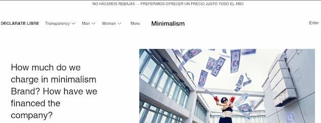 cultura empresarial minimalism